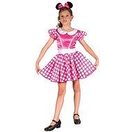 Šaty na karneval - Myšička vel. S - Dětský kostým
