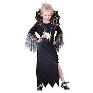 Šaty na karneval - Černá vdova vel. M - Dětský kostým
