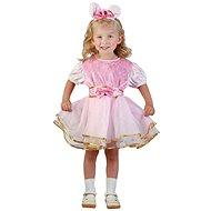 Šaty na karneval - Králíček vel. XS - Dětský kostým