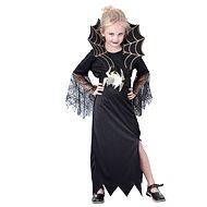 Šaty na karneval - Černá vdova vel. L - Dětský kostým