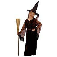 Šaty na karneval - Čarodějka vel. M - Dětský kostým