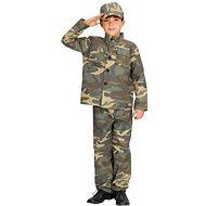 Šaty na karneval - Voják vel. S - Dětský kostým