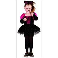 Šaty na karneval - Kočička vel. XS - Dětský kostým