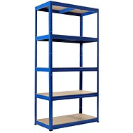 KOVONA FUTUR 1800 x 900 x 350 mm, modrá - regál