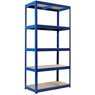 KOVONA FUTUR 1800 x 900 x 450 mm, modrá - regál