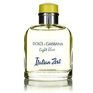 DOLCE & GABBANA Light Blue Italian Zest Pour Homme EdT 125 ml - Pánská toaletní voda