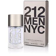 CAROLINA HERRERA 212 NYC Men EdT 30ml - Eau de Toilette for men