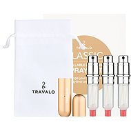 TRAVALO Refill Atomizer Classic HD Gold Set - Refillable perfume atomiser