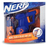NERF Gift Set Bath and Shower Gel 200ml + Water Gun - Children's gift set