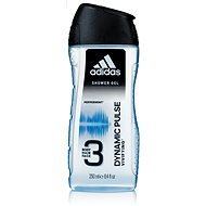 ADIDAS Men A3 Hair & Body Dynamic Pulse 250 ml - Pánský sprchový gel