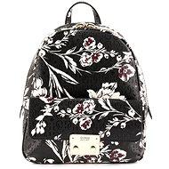 GUESS kabelka SF711031 Black floral - Dámská kabelka
