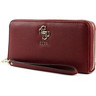 GUESS peněženka VG685346 burgundy - Dámská peněženka