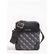 GUESS Men Manhattan Logo Small Mini Crossbody Bag Black - Pánská brašna