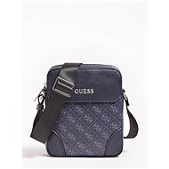 GUESS Men Manhattan Logo Small Mini Crossbody Bag Navy - Pánská brašna
