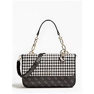 GUESS Rock Houndstooth Logo Crossbody - Kabelka