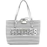 GUESS Bobbi Reversible 3in1 Shopper Stripe/Silver - Kabelka