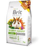 Brit Animals Rabbit Adult Complete 3kg - Rodent Food
