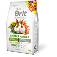Brit Animals Rabbit Adult Complete 1.5kg - Rodent Food