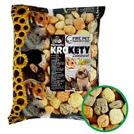 Fine Pet Vegetable Croquettes 12 × 100g - Treats for Rodents
