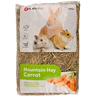Flamingo Mountain Hay with Carrots 500g - Rodent Food
