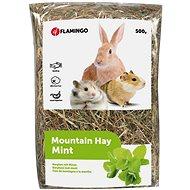 Flamingo Mountain Hay with Mint 500g - Rodent Food