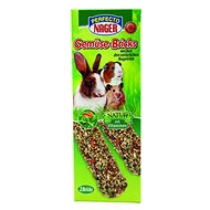 Perfecto Nager Sticks zeleninové 2 × 56 g - Doplněk stravy pro hlodavce