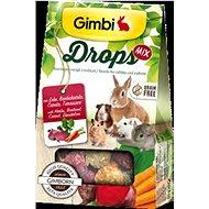 Gimbi Drops Červená řepa 50 g - Pamlsky pro hlodavce