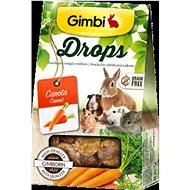 Gimbi Drops Mrkev 50 g - Pamlsky pro hlodavce