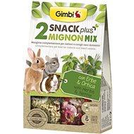 Gimbi Snack Plus Mignon mix 250 g - Pamlsky pro hlodavce