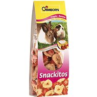 Gimbi Snack It Jahoda a banán 60 g - Pamlsky pro hlodavce