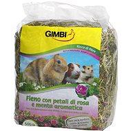 Gimbi Seno krmné s růží 500 g - Krmivo pro hlodavce