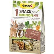 Gimbi Snack Plus Mignon mix 150 g - Pamlsky pro hlodavce