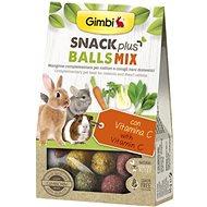 Gimbi Snack Plus Kuličky mix 50 g - Pamlsky pro hlodavce
