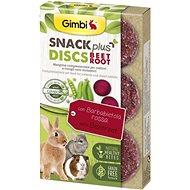 Gimbi Snack Plus Discs červená řepa 50 g - Pamlsky pro hlodavce