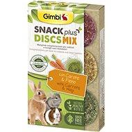 Gimbi Snack Plus Discs mix 50 g - Pamlsky pro hlodavce