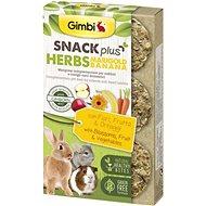 Gimbi Snack Plus Marigold bylinky a banán 50 g - Pamlsky pro hlodavce