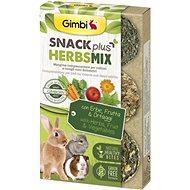 Gimbi Snack Plus Bylinky mix 50 g - Pamlsky pro hlodavce