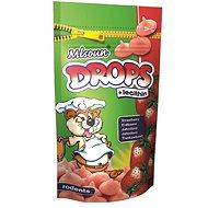 Mlsoun Drops jahodový 75 g