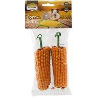 Nature Land Brunch Pochoutka kukuřičné klasy 2 ks - Pamlsky pro hlodavce