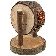 Nature Land Pochoutka Nibble kolo dřevěné plněné mrkví, petrželí a prosem 200 g - Doplněk stravy pro hlodavce