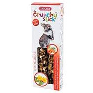 Zolux Pochoutka CRUNCHY STICK pro králíky mrkev/pampeliška - Pamlsky pro hlodavce