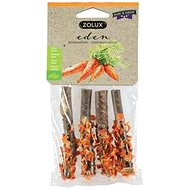 Zolux Pochoutka EDEN WOOD LOG mrkev 20 g - Pamlsky pro hlodavce