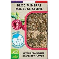 Zolux Minerální kámen EDEN malina 2× 100 g - Doplněk stravy pro hlodavce