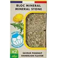 Zolux Minerální kámen EDEN pampeliška 2× 100 g - Doplněk stravy pro hlodavce