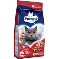 PreVital Adult Cat hovězí 1,4kg