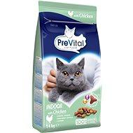 PreVital Adult Cat Indoor kuře 1,4kg  - Granule pro kočky