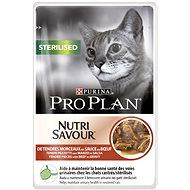 Kapsička pro kočky Pro Plan Cat Sterilised s hovězím 24 × 85 g