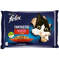 Felix Fantastic s králíkem a jehněčím v želé 4 x 85 g