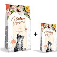 Calibra Cat Verve GF Kitten Chicken & Turkey 3,5kg + 750g