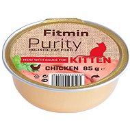 Fitmin Cat Purity alutray Kitten Chicken 85 g - Konzerva pro kočky
